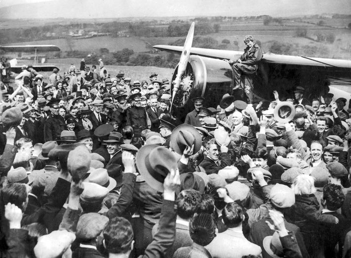 Amelia Earhart en Derry