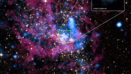 Podría haber miles de agujeros negros en el centro de nuestra galaxia