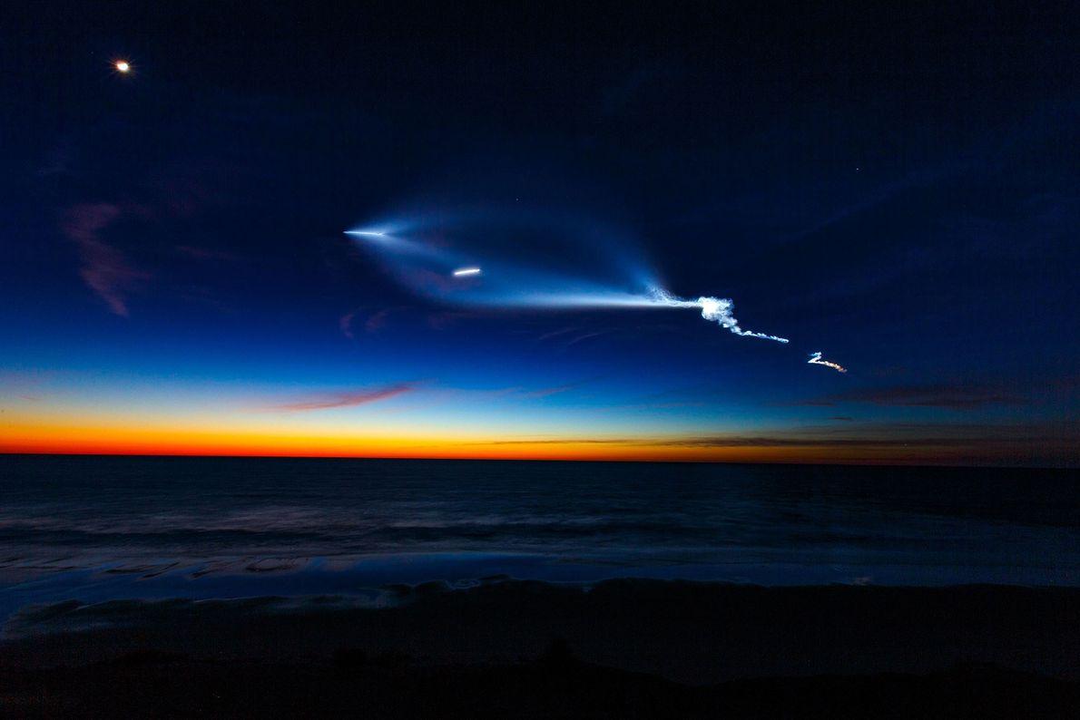 El cohete Falcon 9 de SpaceX