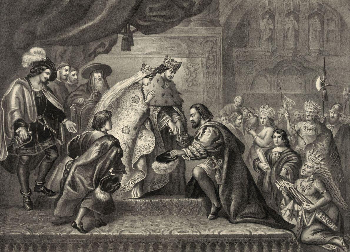 Isabel de Castilla y Fernando II de Aragón, que estuvieron casados durante 35 años, unieron fuerzas …