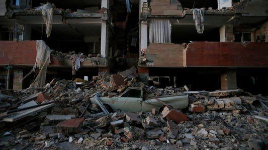 Desoladoras imágenes del terremoto en la frontera entre Irán e Irak