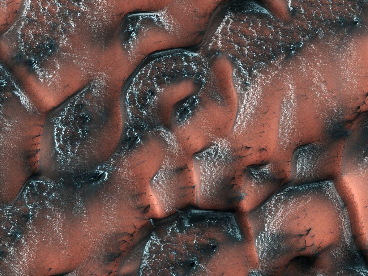 Foto del Mars Reconnaissance Orbiter