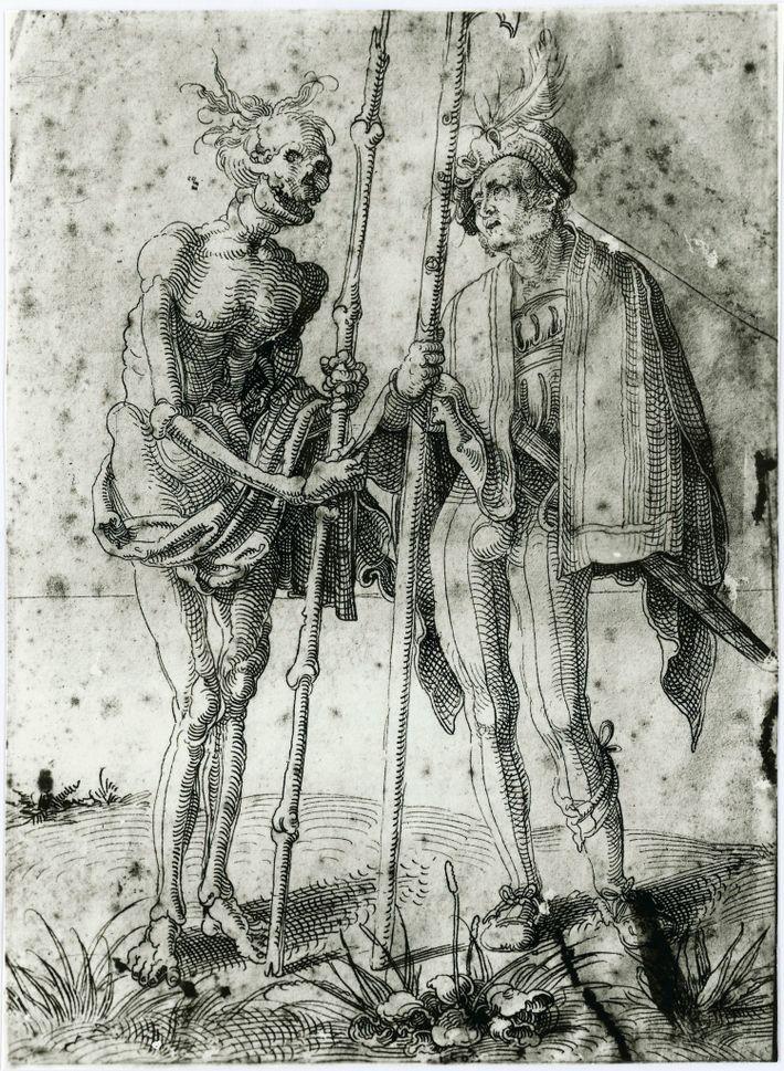 Dibujo del siglo XVI de Hand Baldung Grien