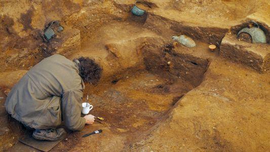 La excavación de la tumba de Prittlewell