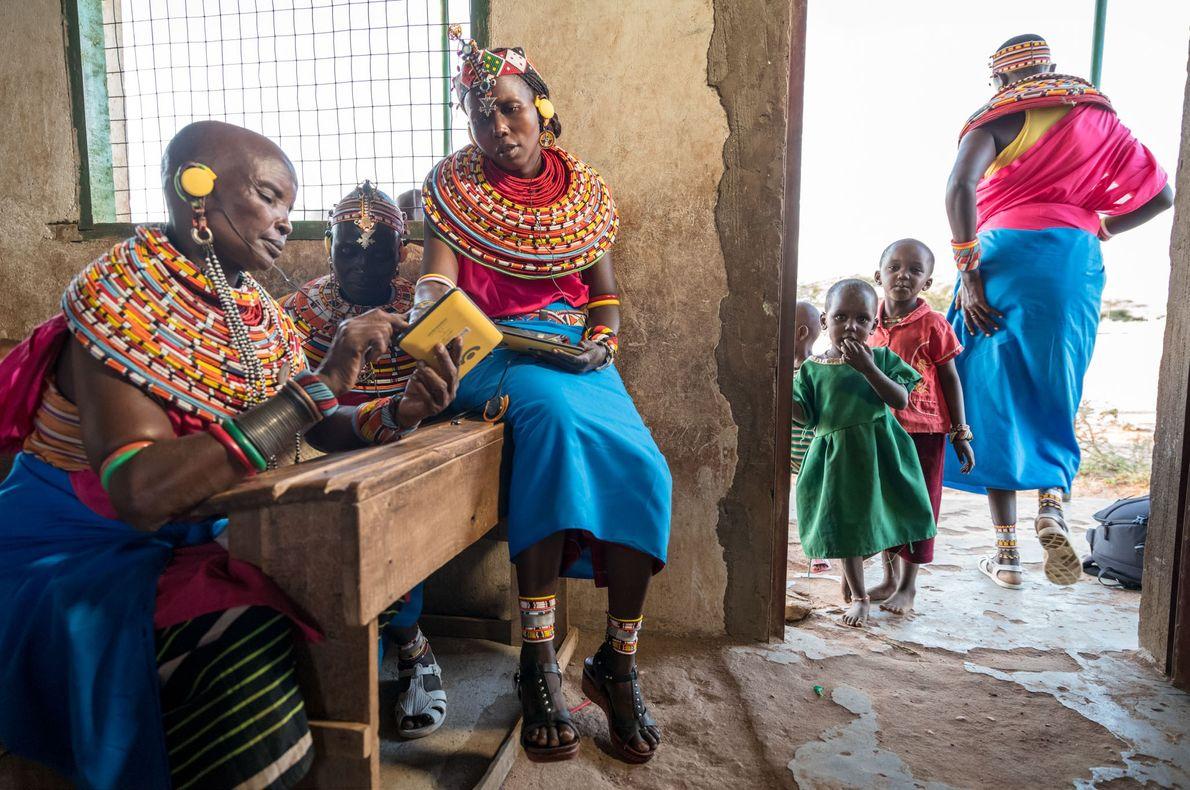 Tablets para los samburu