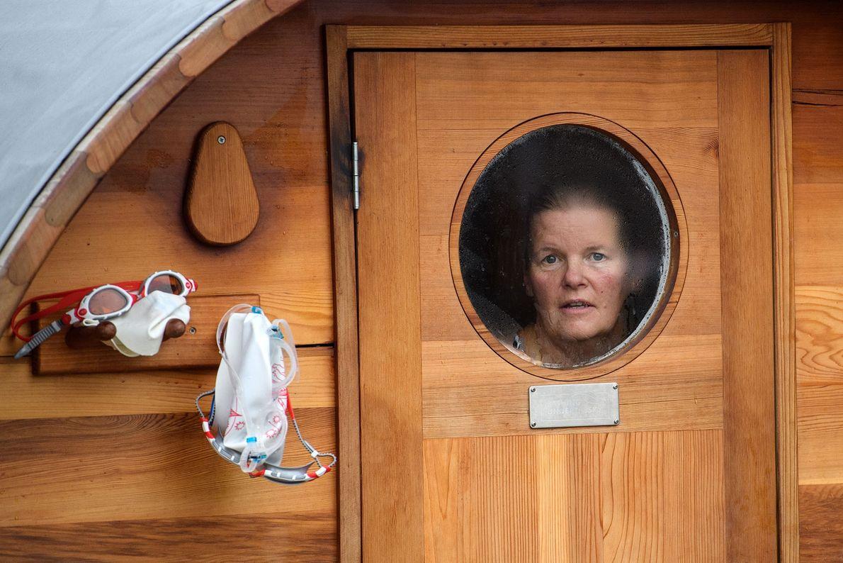 Sauna en Brockwell Lido