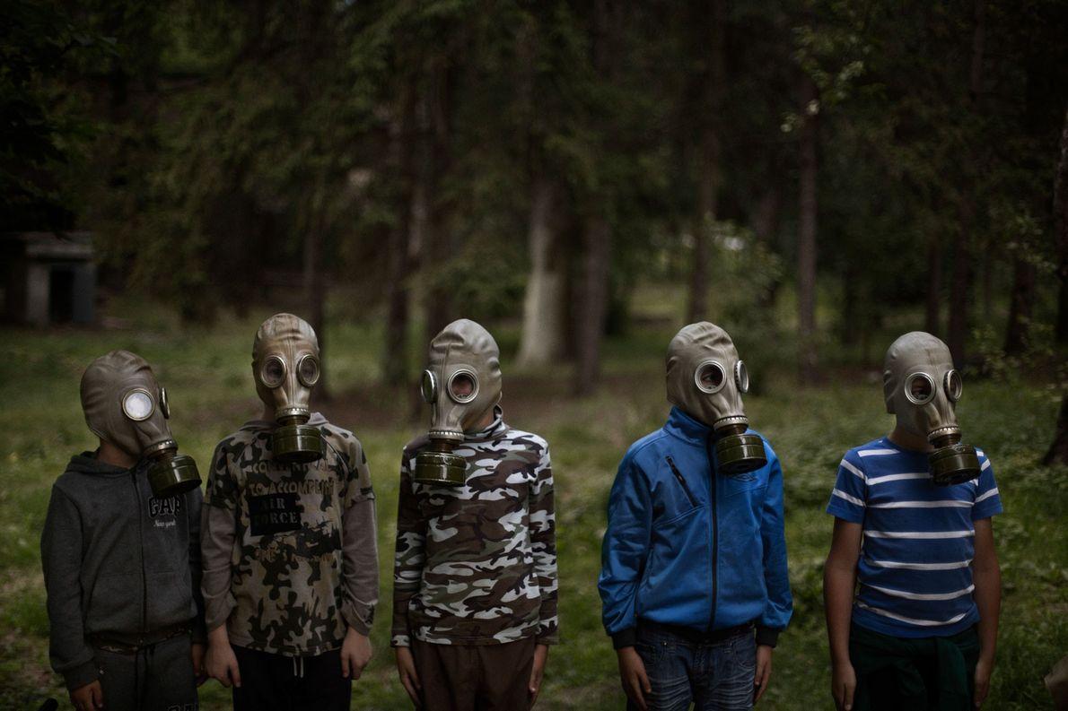 Máscaras de gas