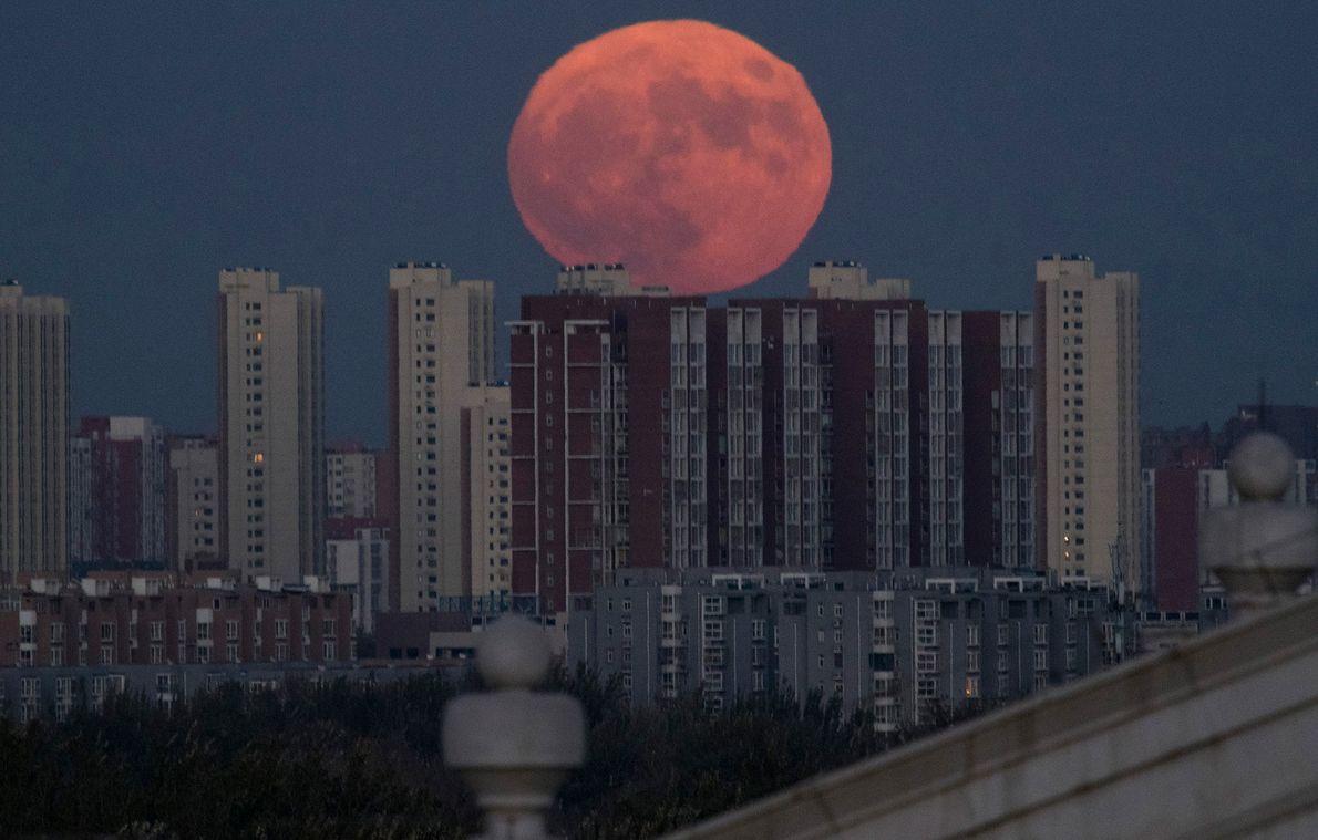 Superluna en Pekín