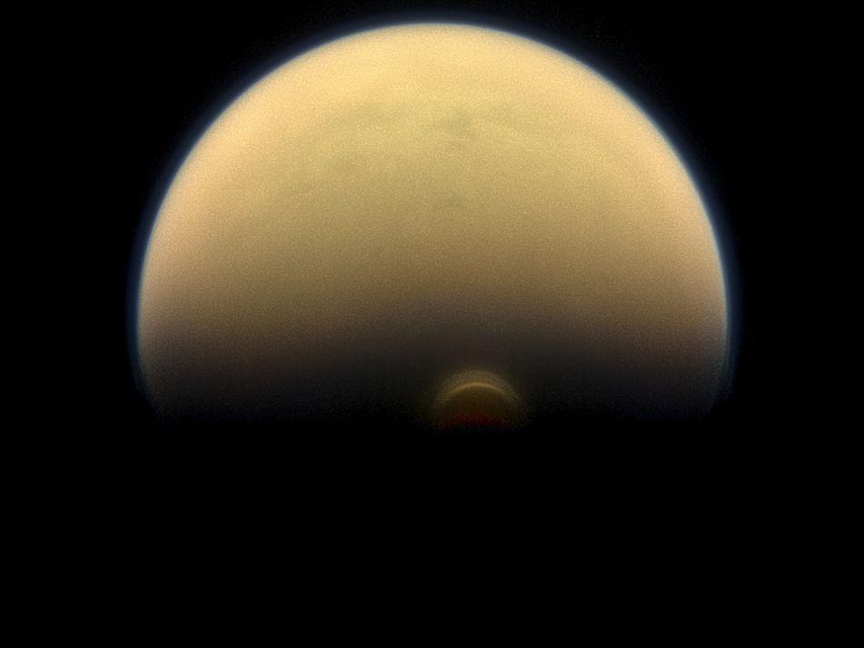Imágenes de Titán, la mayor luna de Saturno