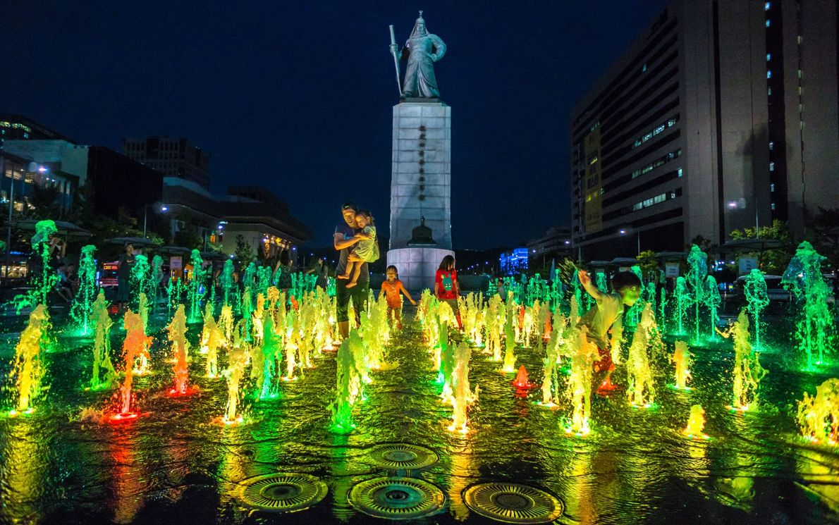 Plaza de Gwanghwamun
