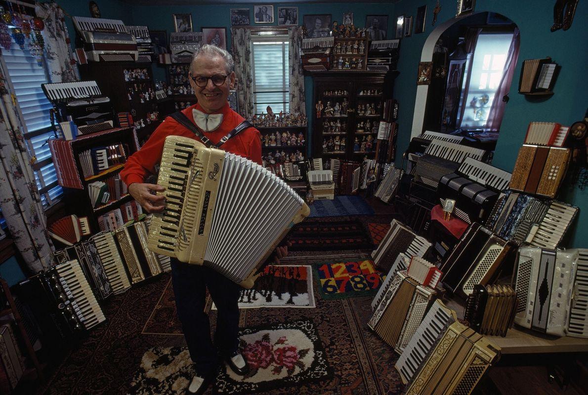 Los acordeones de John Kolcun
