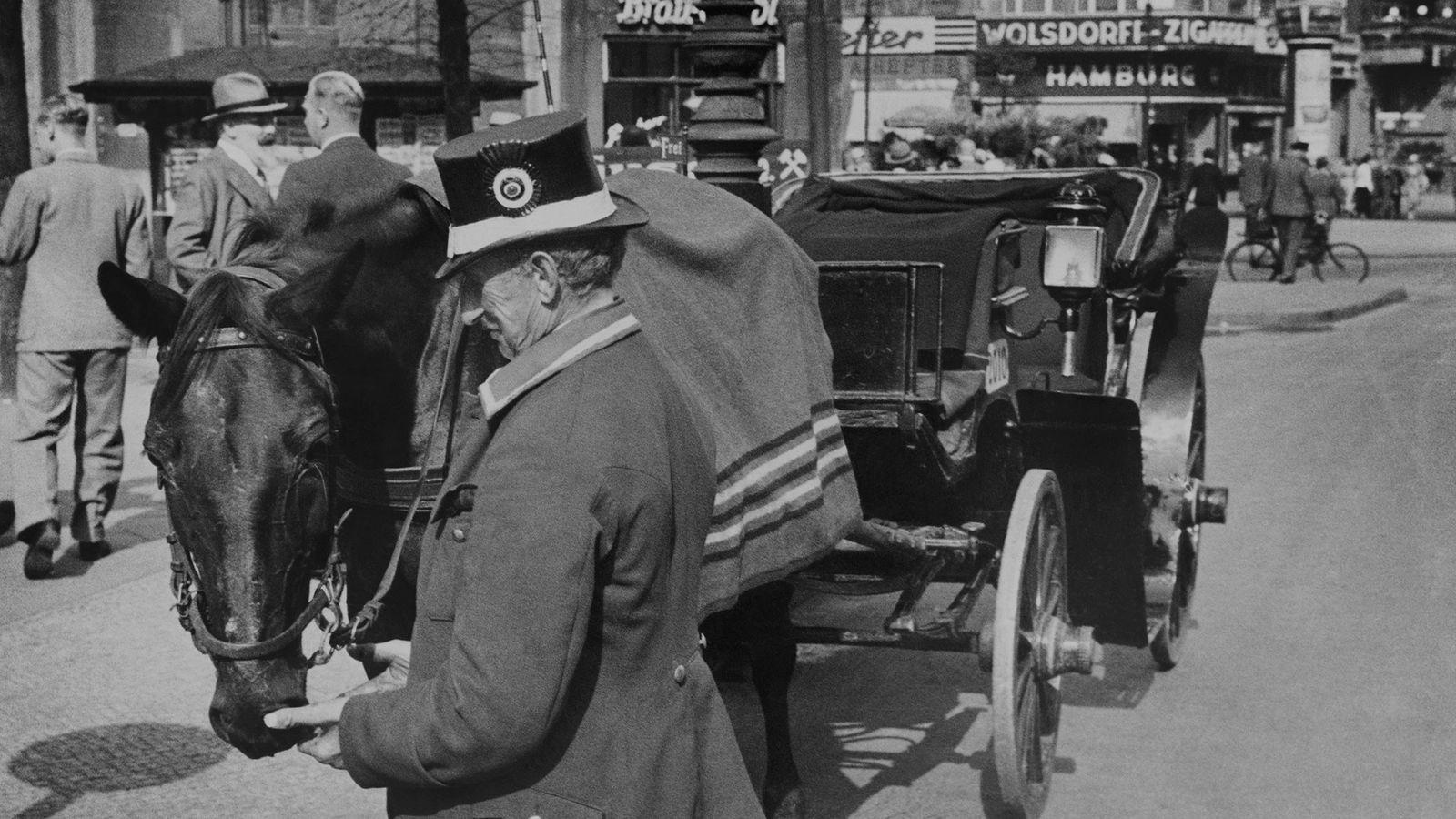 Un conductor de carruajes