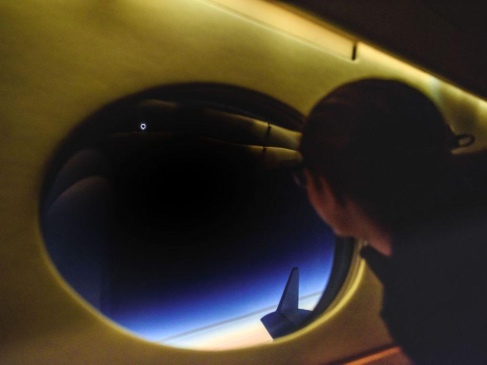 Las primeras imágenes del eclipse solar de 2017
