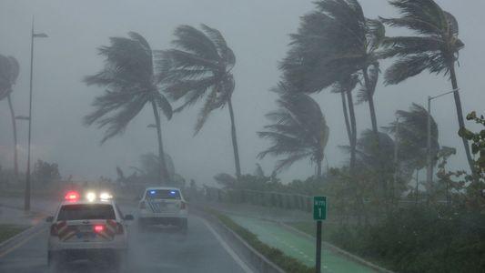 El huracán Irma a su paso por el Caribe y Estados Unidos