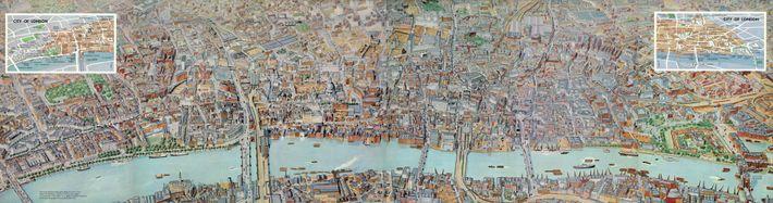Panorámica de Londres, 1961