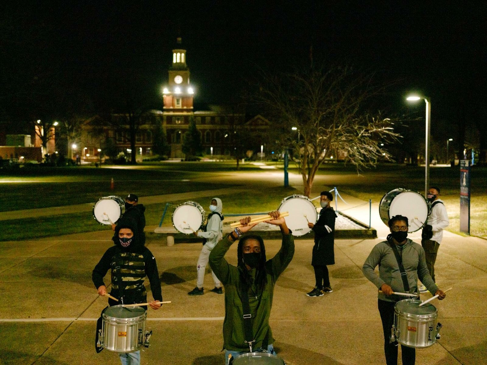 La Showtime March Band de la Universidad Howard