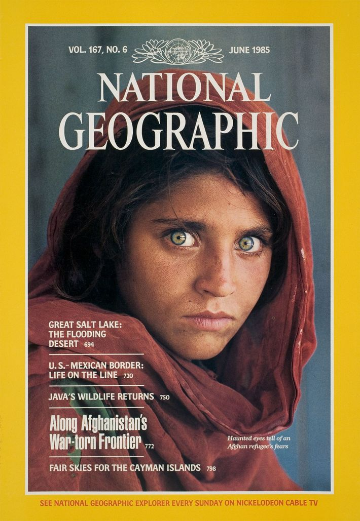 Portada de la Niña Afgana