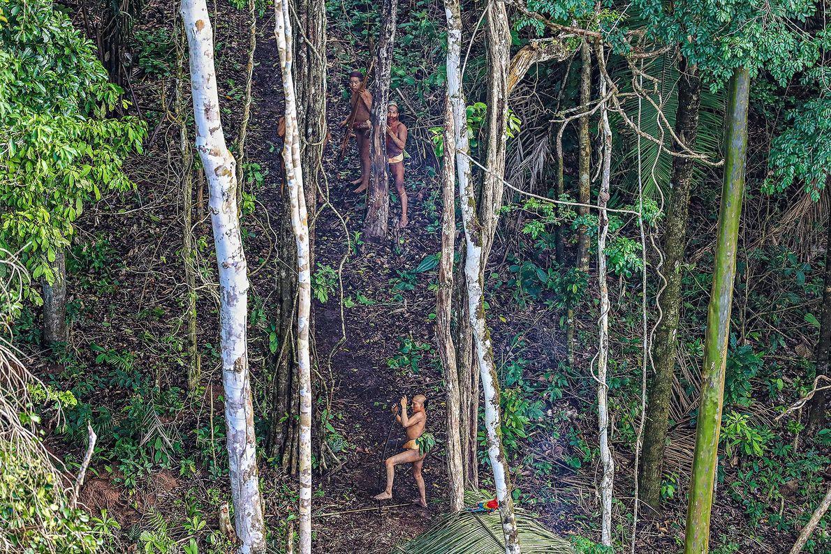 Imagen de un pueblo en la selva amazónica