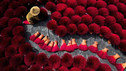 Fotografías hipnóticas de Vietnam desde el cielo
