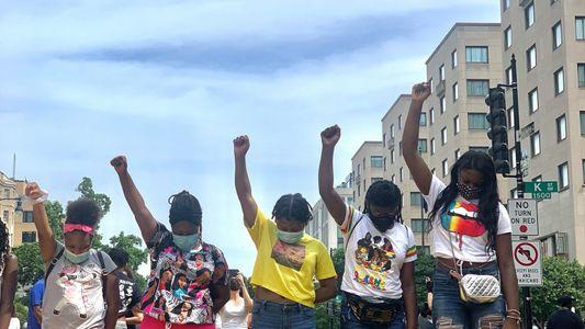 Protesta BLM en Washington D.C.