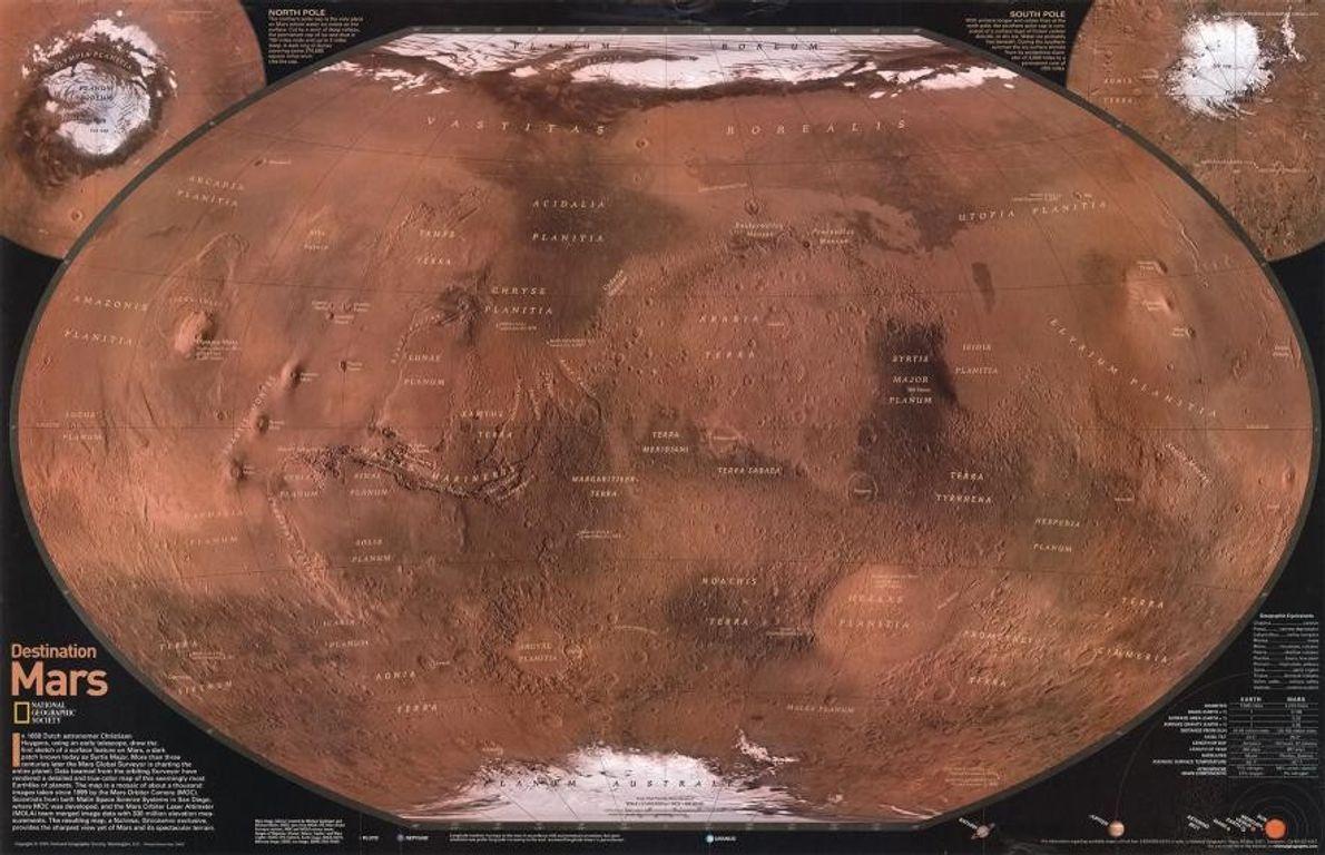 Mapa de 2001