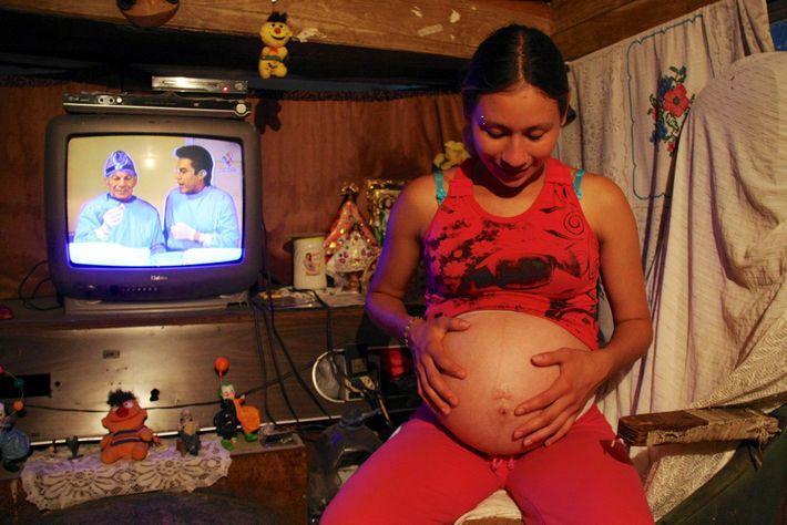 Embarazada en el Circo Americano