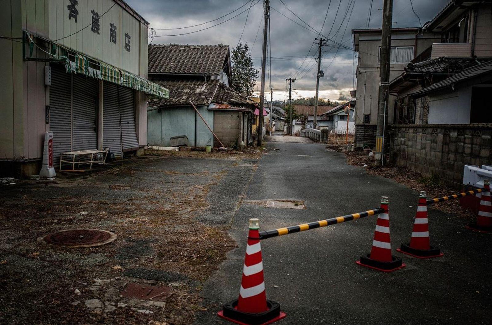 Carretera en Fukushima