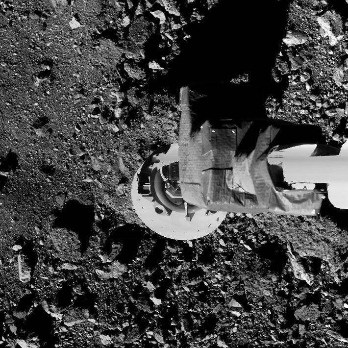 Brazo de muestreo de la sonda OSIRIS-REx
