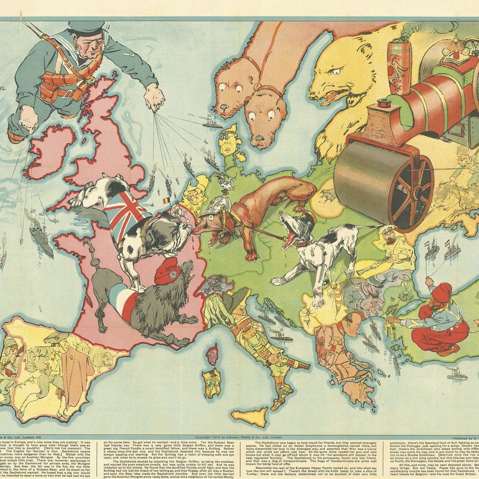 Mapa británico