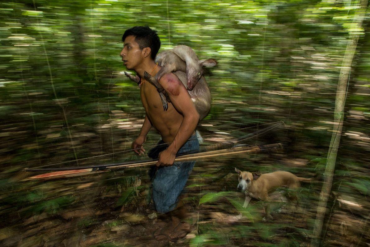 Un joven cazador