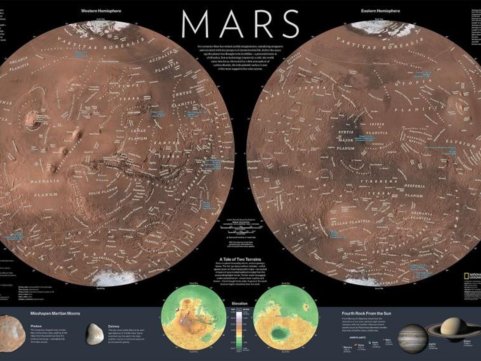 Póster de Marte