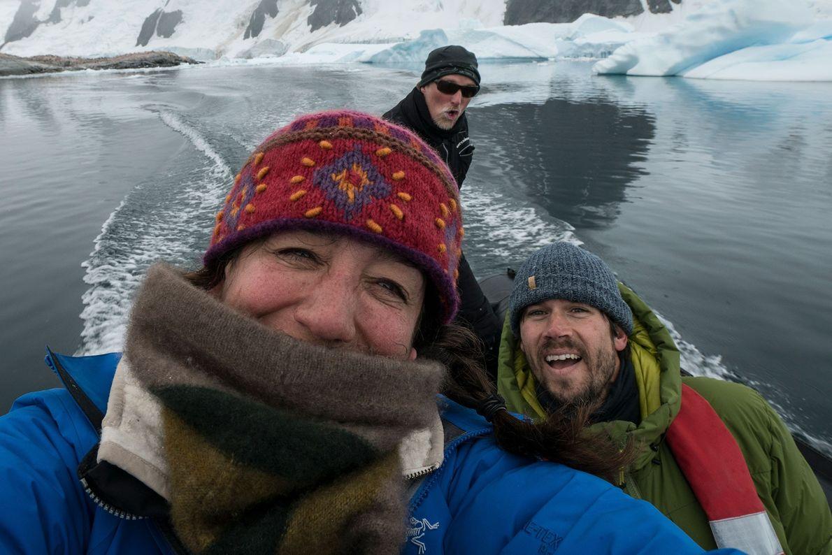 Cristina Mittermeier, Keith Ladzinski, y Paul Nicklen