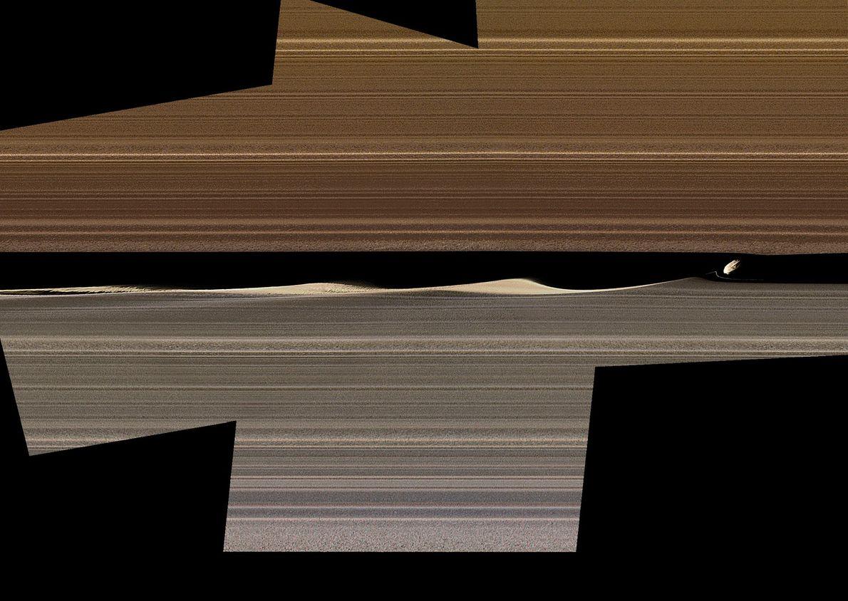 Dafne, Saturno