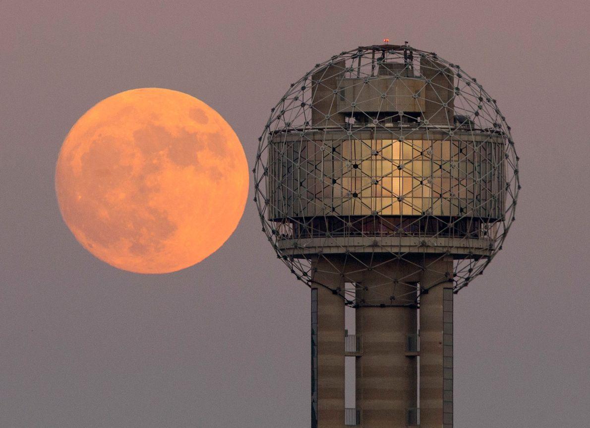 Superluna en Texas