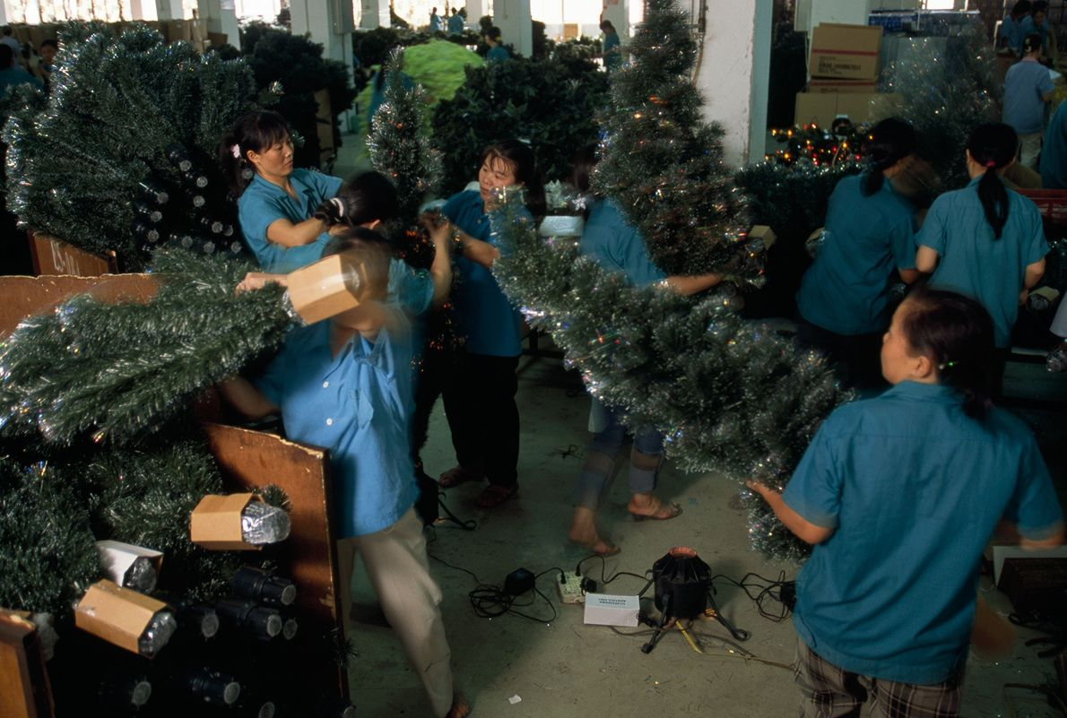 Fábrica de árboles