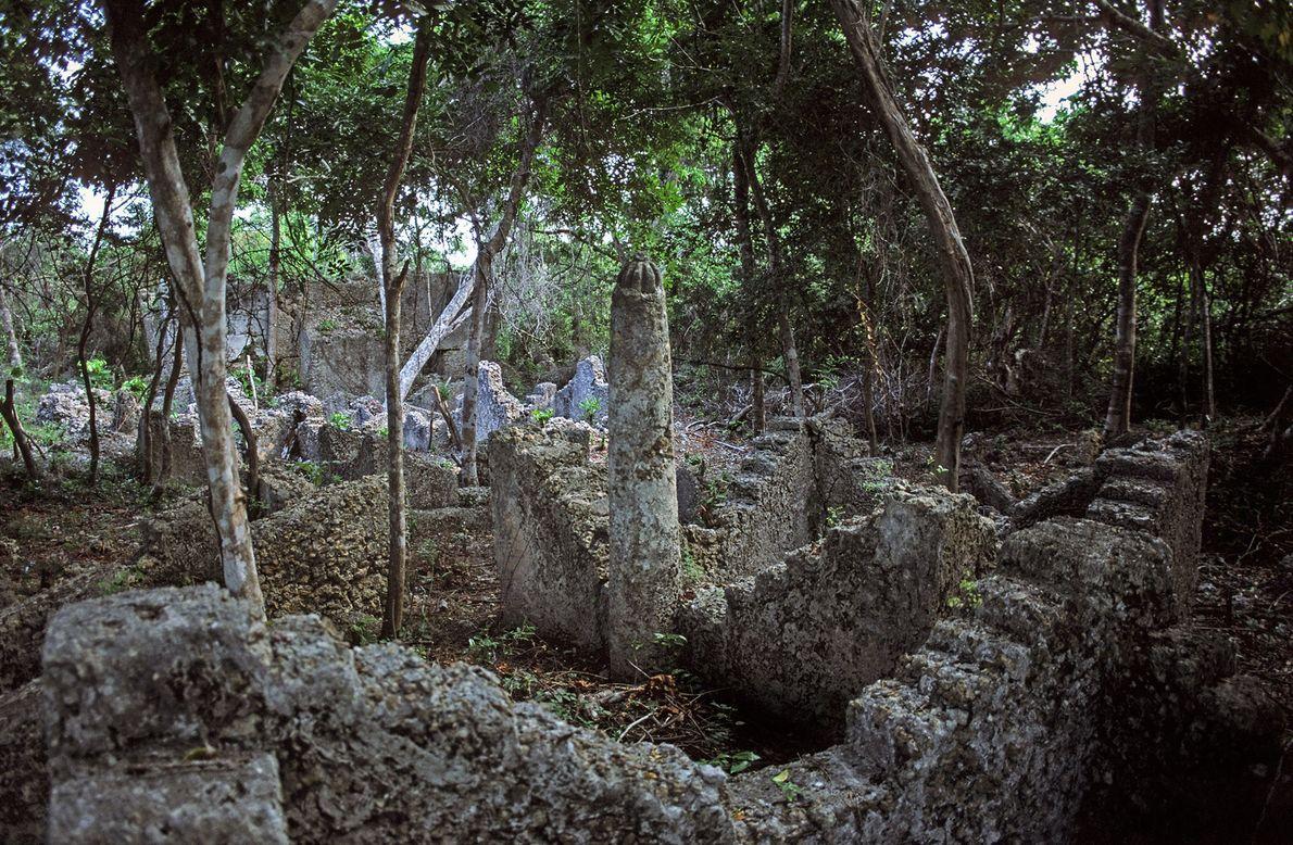 Las ruinas de Kua