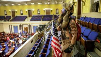 El caos del asalto al Capitolio estadounidense en imágenes