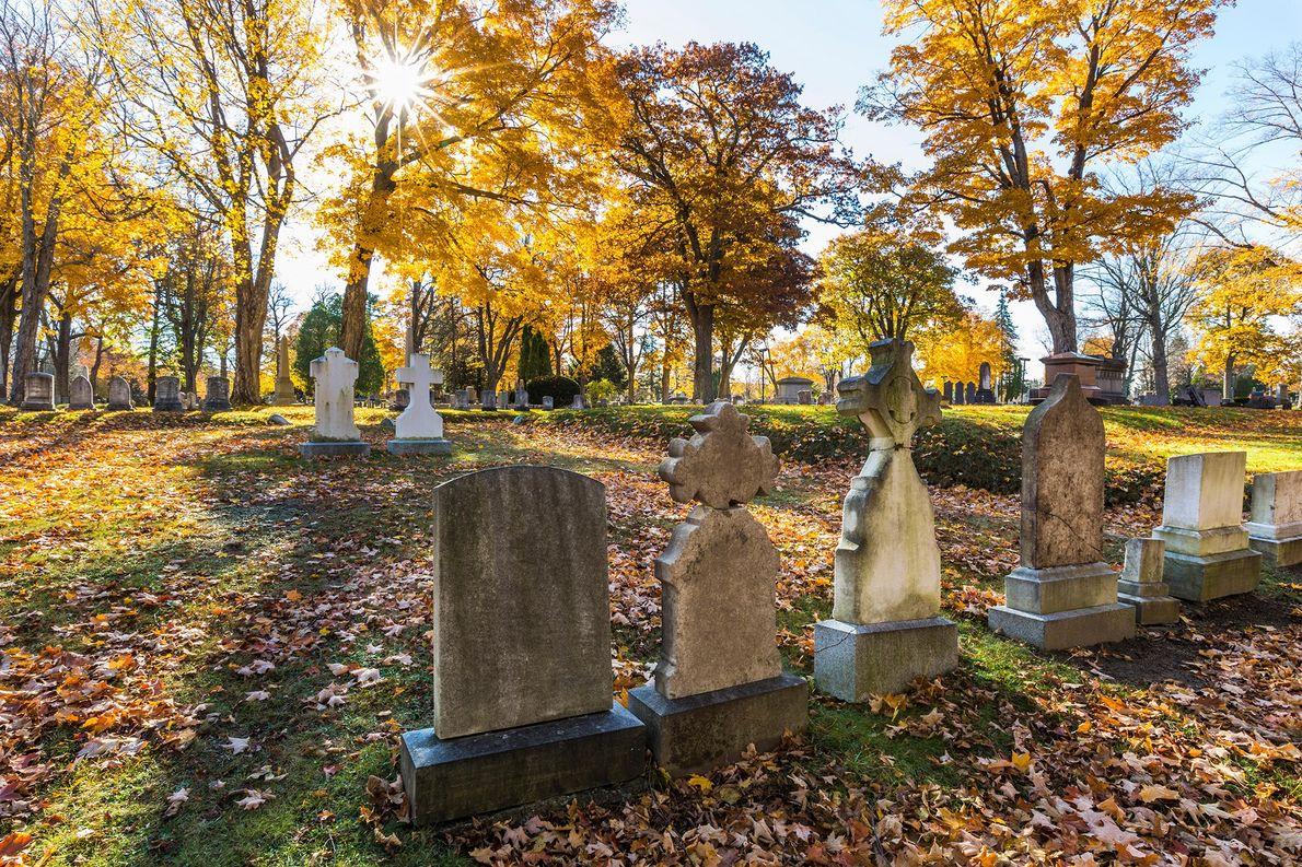 Cementerio Evergreen, Portland