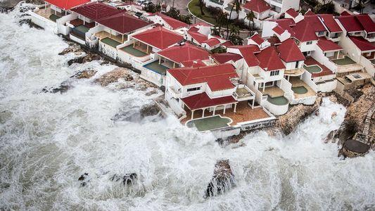 Imágenes de la destrucción del huracán Irma, una tormenta monstruosa