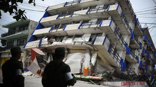 Imágenes del terremoto en México, el más intenso en 85 años