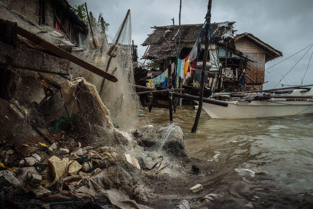 Redes descartadas en Bohol