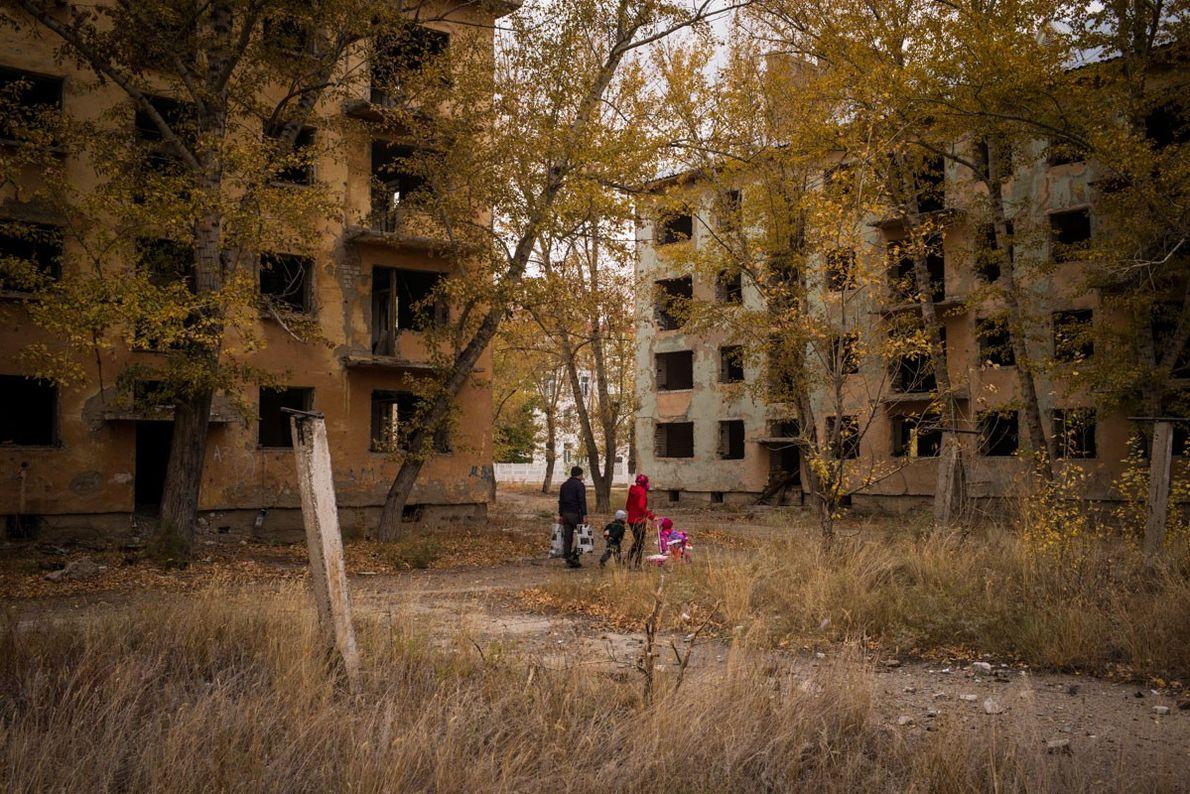 Kurchátov, Kazajistán