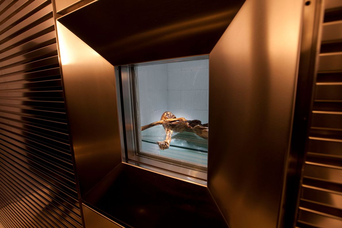 Ötzi y sus objetos