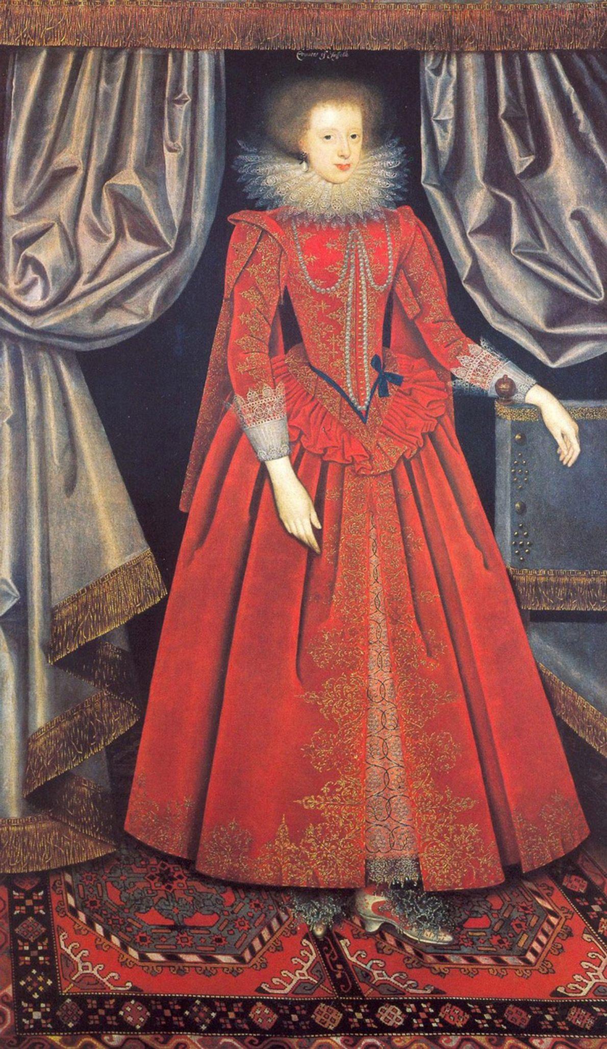 Retrato de Catherine Knevet, Condesa de Suffolk
