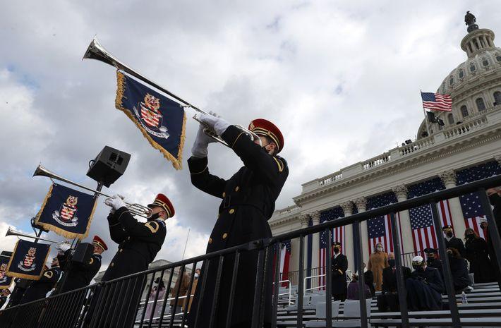 La banda del ejército estadounidense
