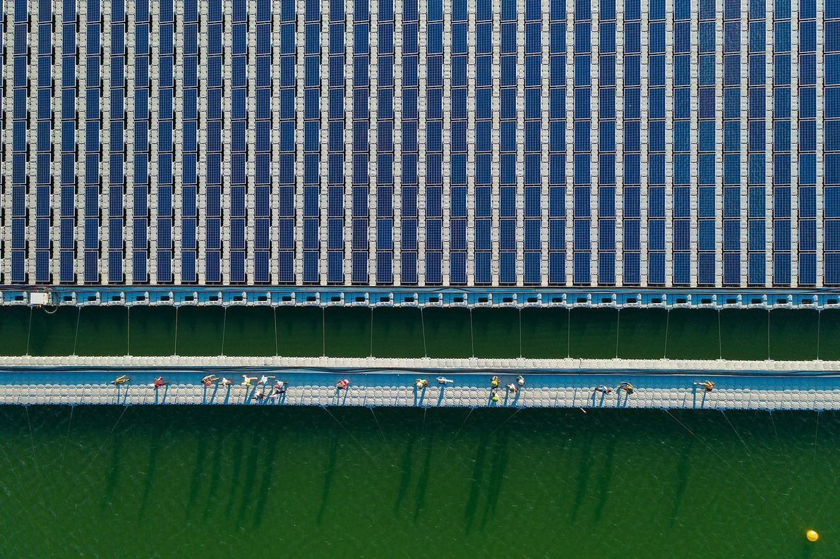Central de energía solar
