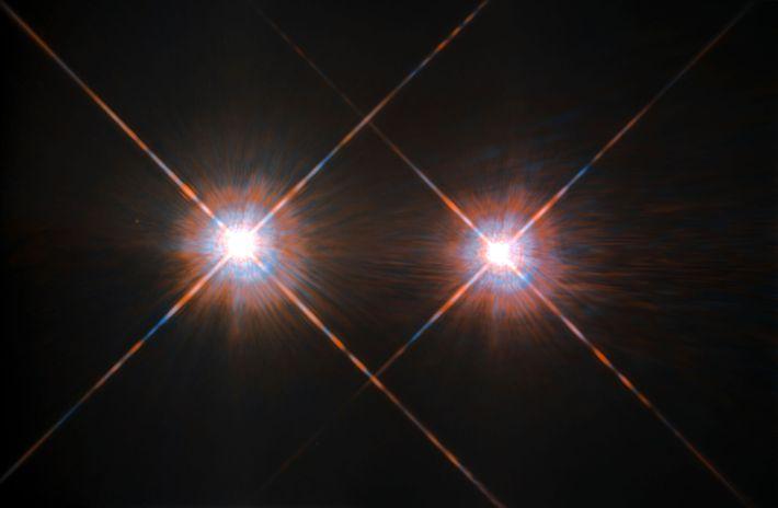 Alfa Centauri A y B