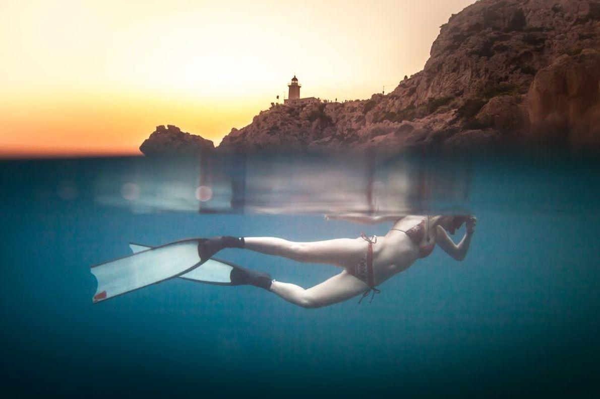 Buceando en Grecia