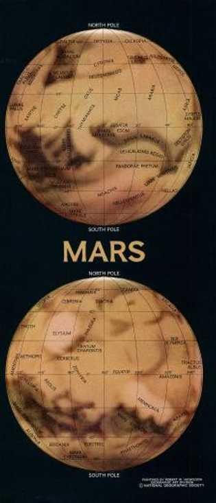 Hemisferios de Marte