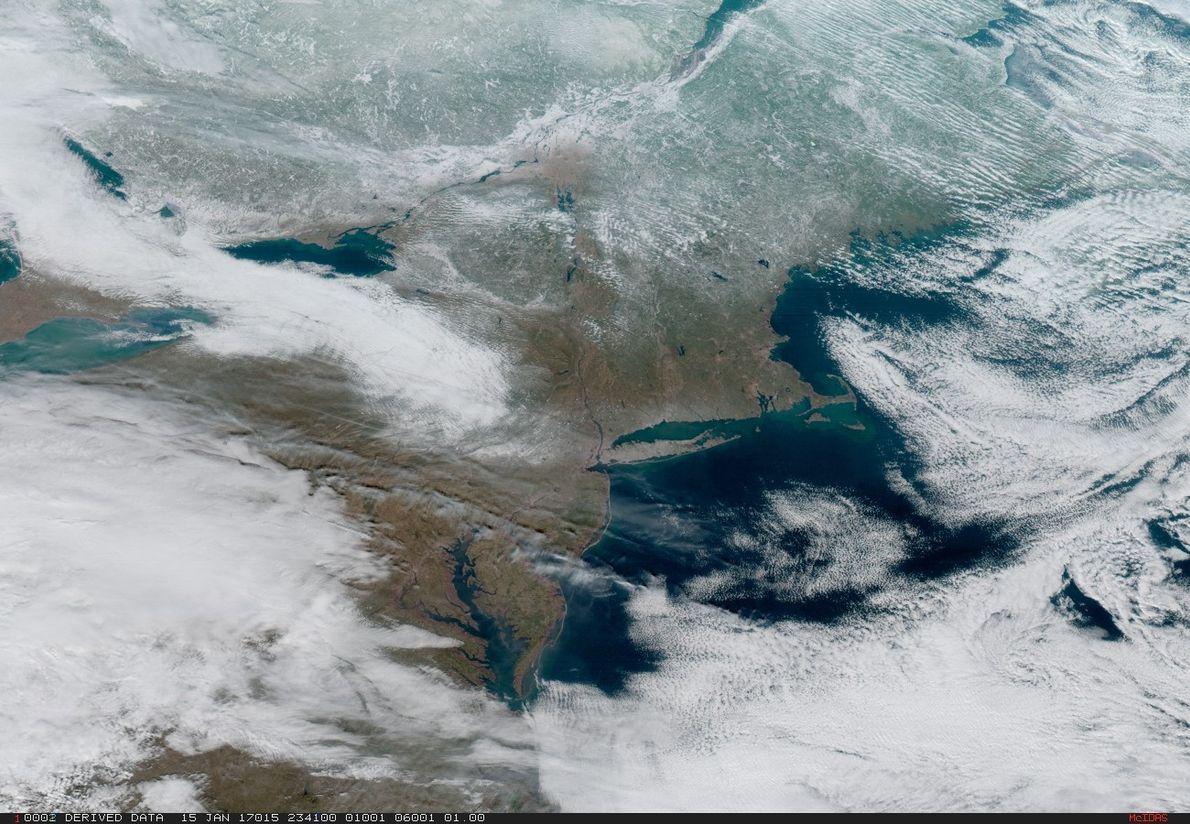 Imagen del noreste de Estados Unidos